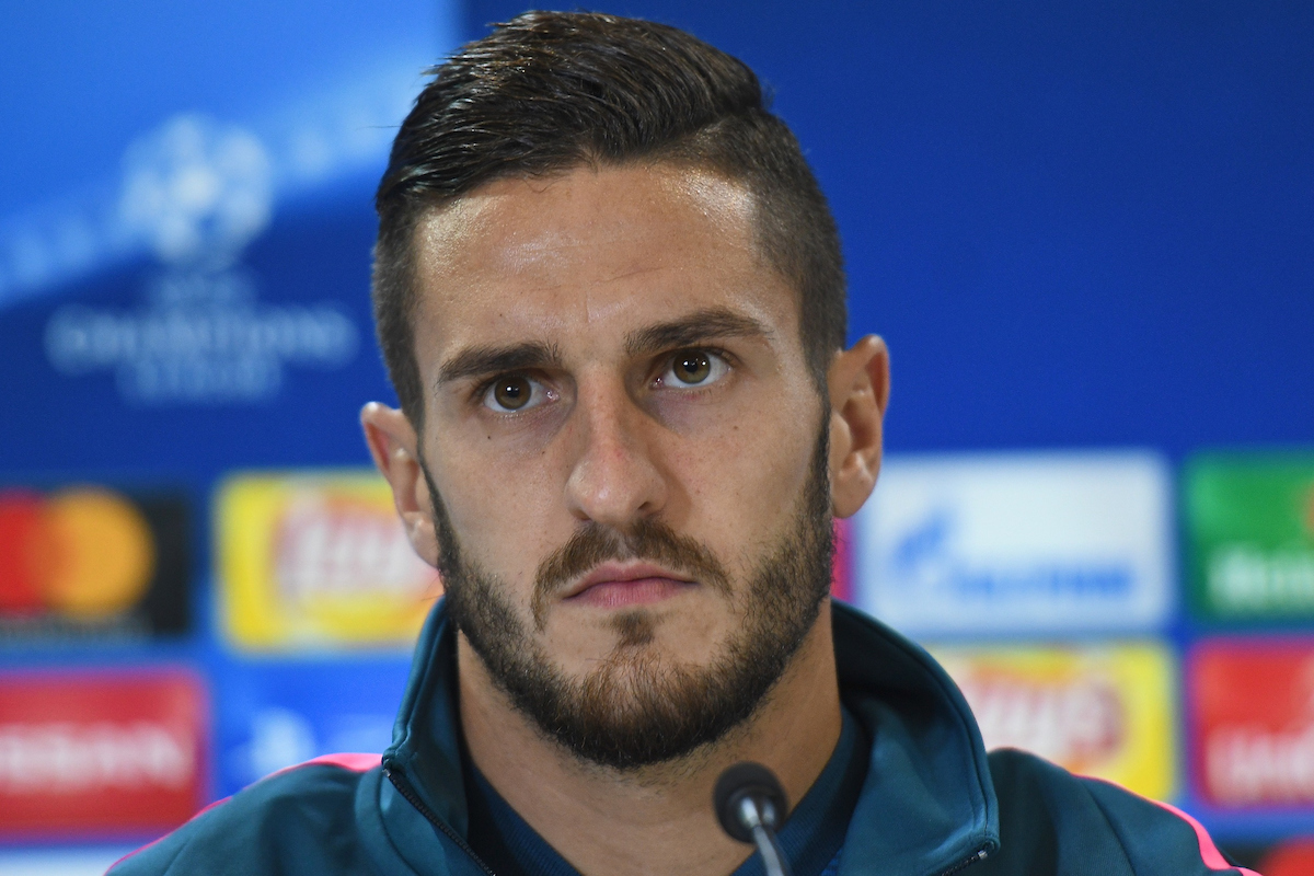 Koke of Atletico Madrid during the  Atletico Madrid press conference at the Wanda Metropolitano Stadium, Madrid Picture by Kristian Kane/Focus Images Ltd +44 7814 482222 26/09/2017