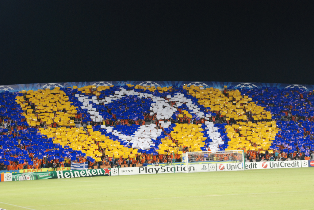 Photos from the UEFA Champions League game between APOEL Nicosia and Chelsea. 30 Septermber 2009