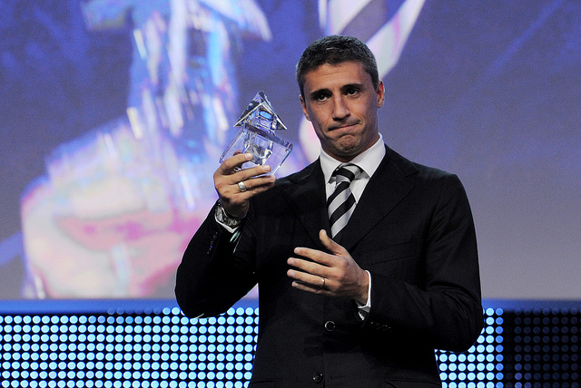 Hernán Crespo - Internationale Sportnacht Davos 2012