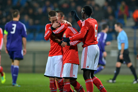 Benfica Youth League web Anderlecht http://www.rsca.be