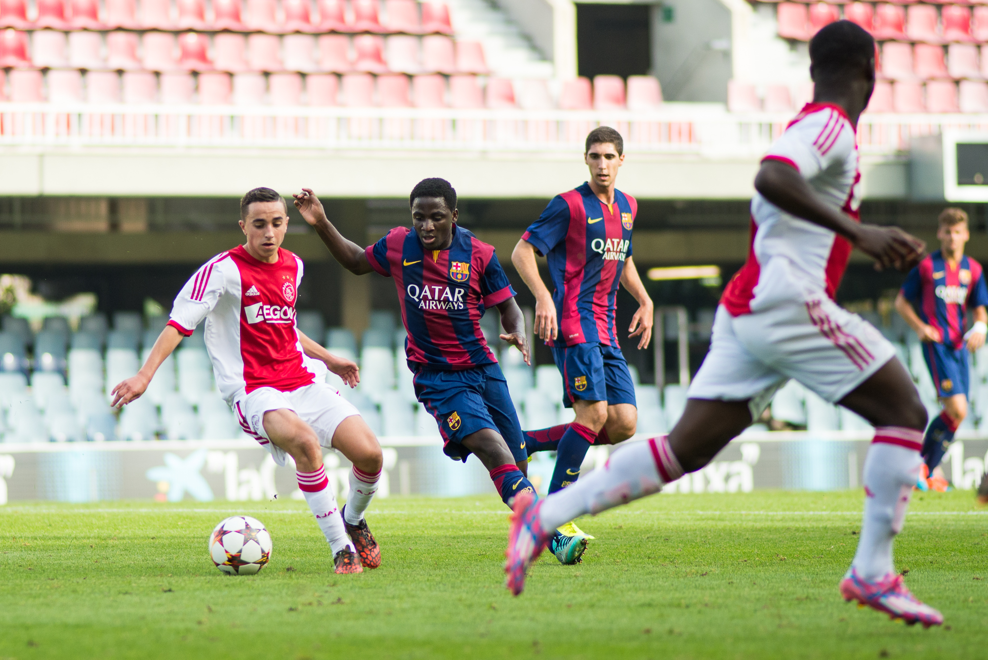 Nouri Enguene Youth League Ajax Eduardo Ferrer Alcover