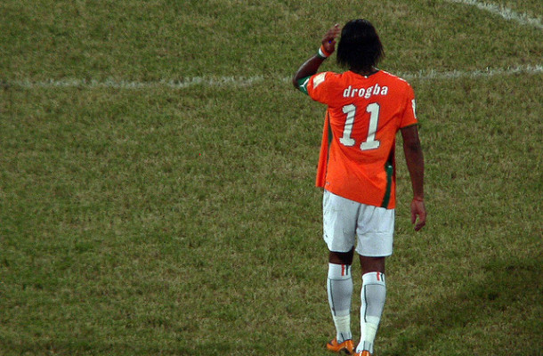 Didier Drogba Costa Marfil Foto:Jake Brown
