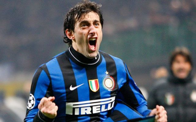 Diego Milito Inter Racing - calciostreaming