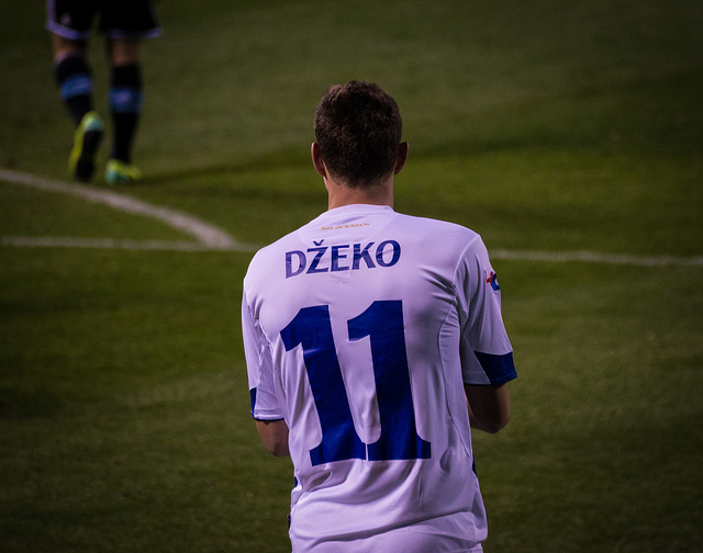 Dzeko Bosnia - five til noon