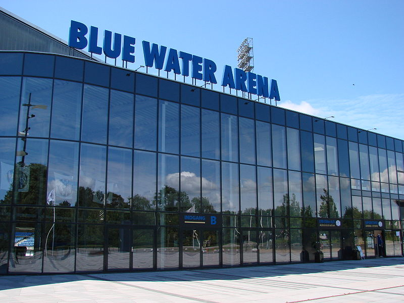 El Blue Water Arena, estadio del Esbjerg FB. Foto: Pathfinder77