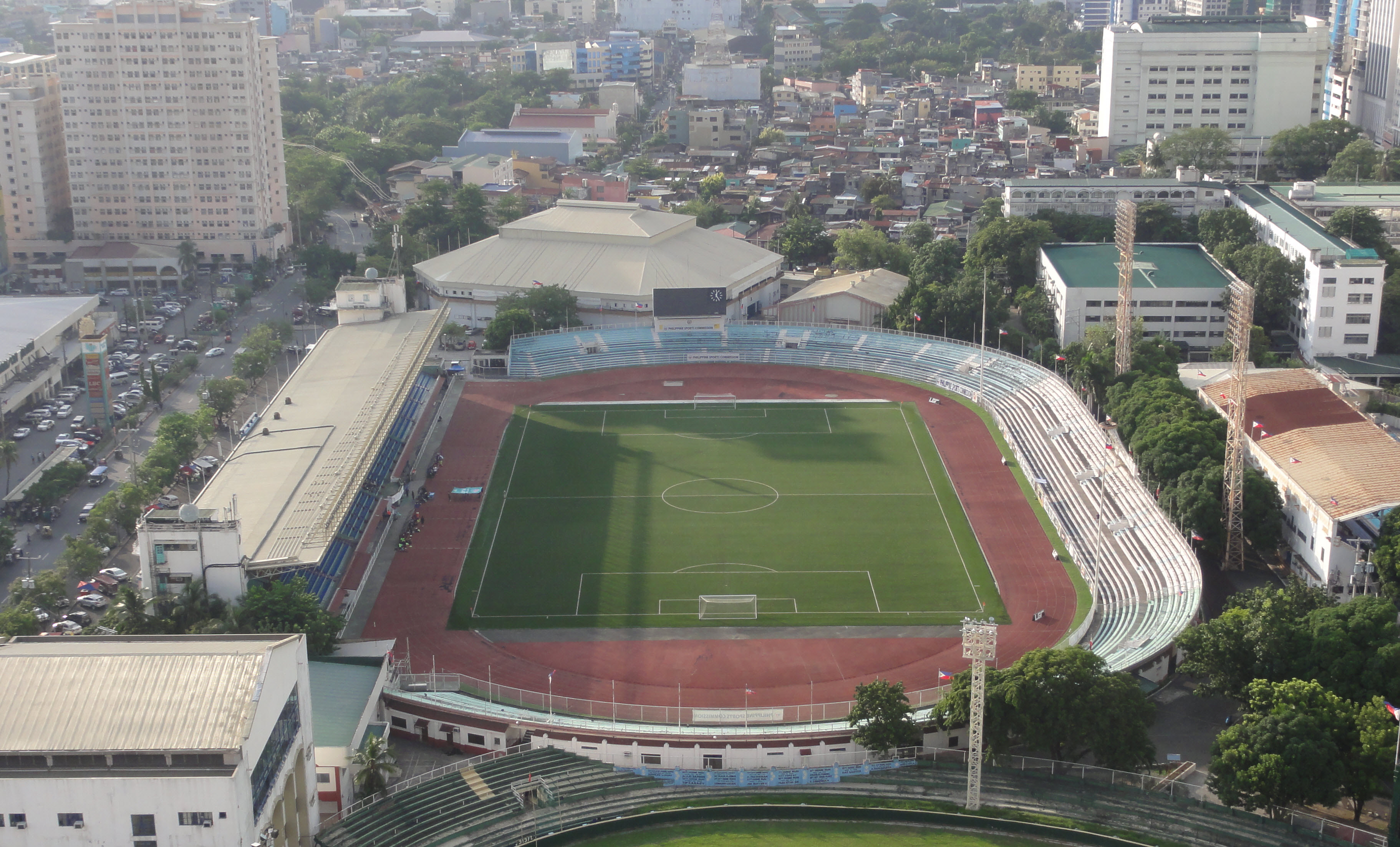 Estadio Memorial Rizal Manila Filipinas Patrick Roque
