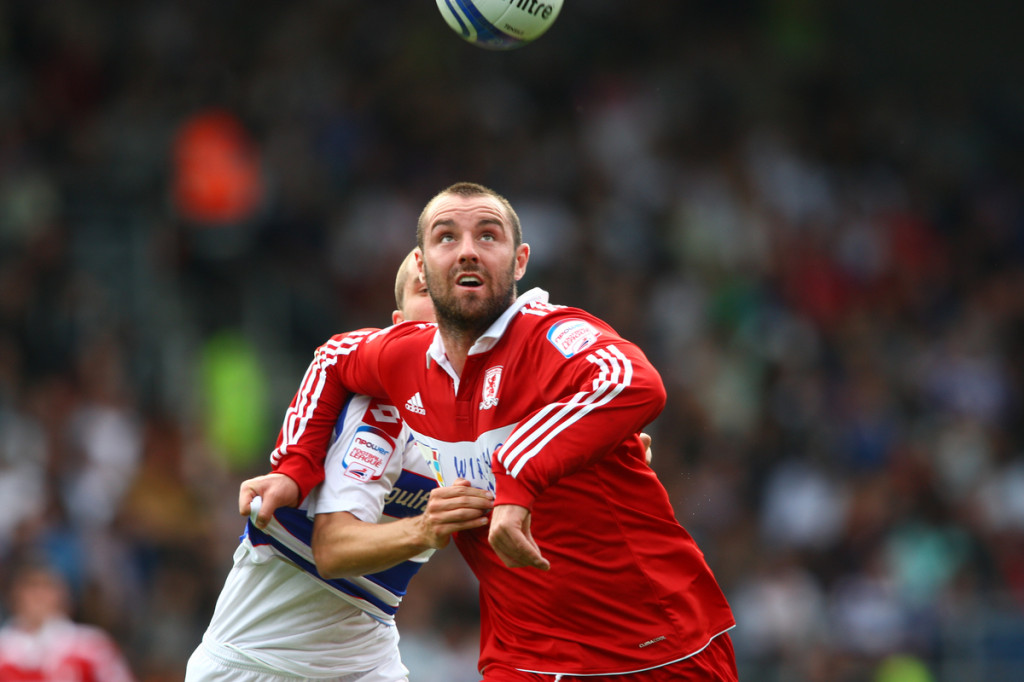 Kris Boyd en su etapa en el Middlesbrough (Foto: Focus Images Ltd).