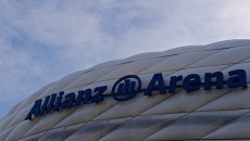 General Views of the Allianz Arena, Munich. Picture by Ian Wadkins/Focus Images Ltd +44 7877 568959 11/03/2014