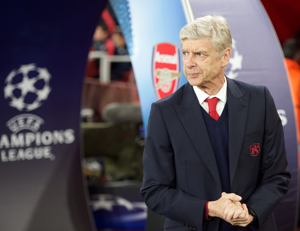 Manager Arsene Wenger of Arsenal before the UEFA Champions League match at the Emirates Stadium, London Picture by Alan Stanford/Focus Images Ltd +44 7915 056117 20/10/2015