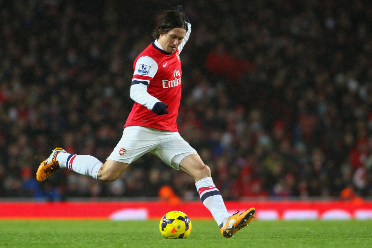 Arsenal Rosicky Focus