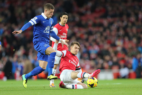 Barkley brilló más que Ramsey (Foto: Focus Images Ltd)