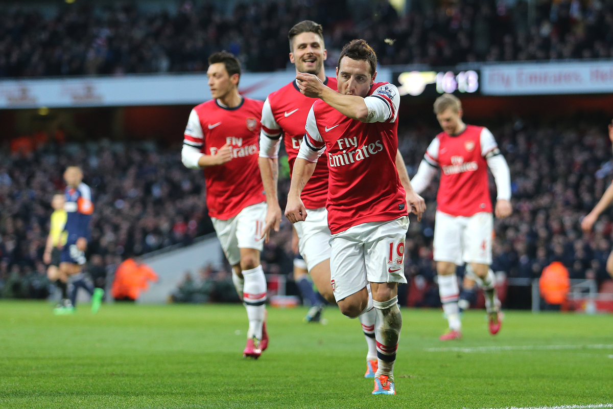 Arsenal v FulhamBarclays Premier League