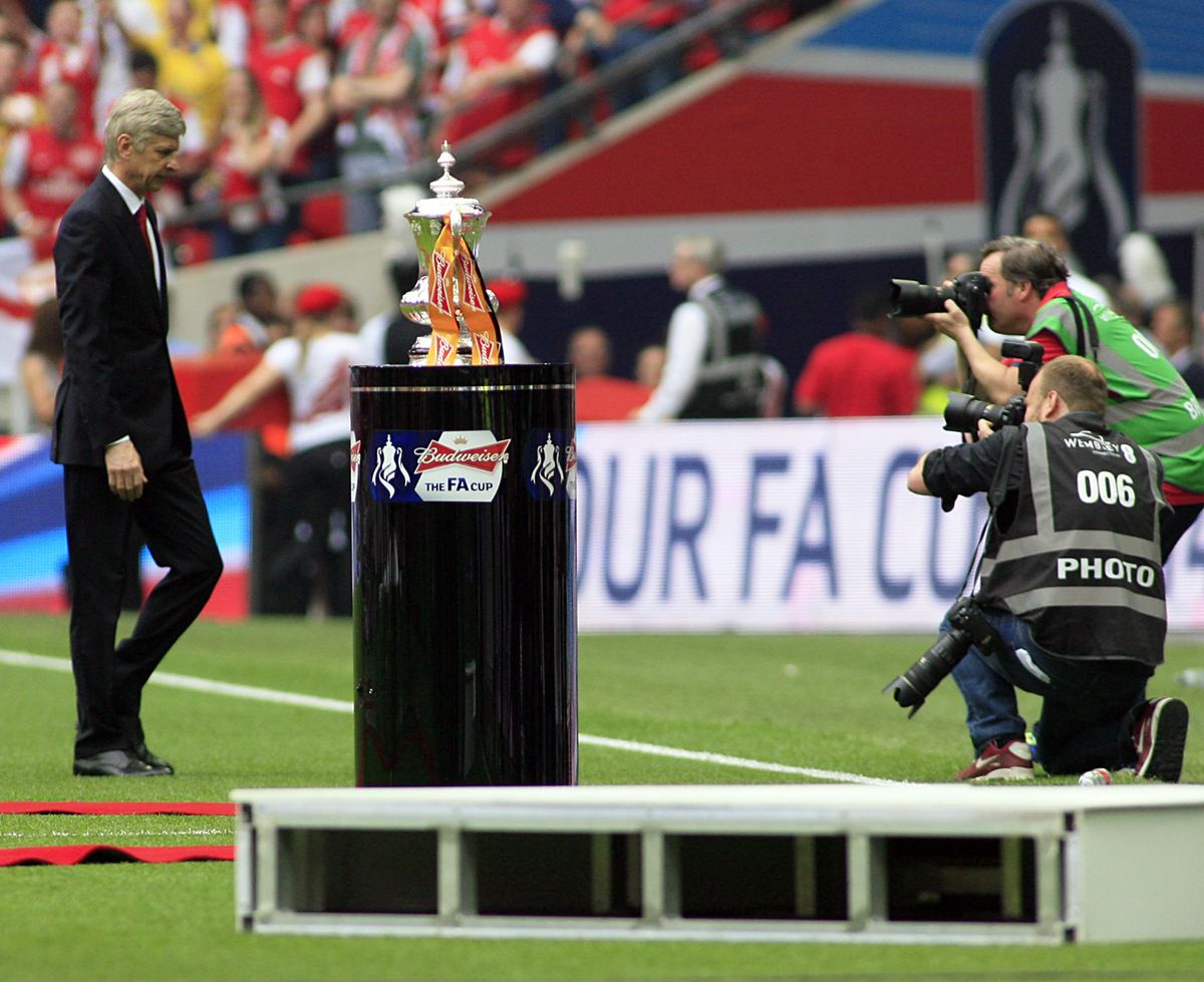 Wenger FA Cup Final Copa Trofeo Wembley Hull Focus