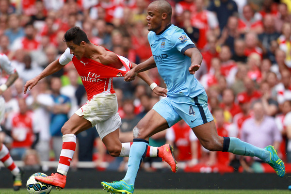 Arsenal v Manchester CityBarclays Premier League