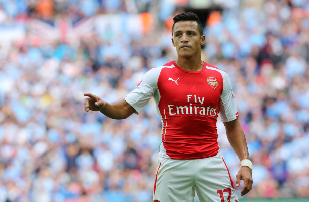 Arsenal Alexis Focus