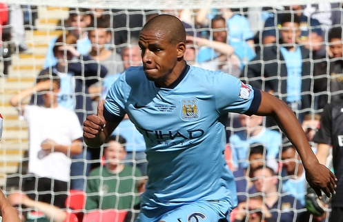 Fernando Manchester City Focus