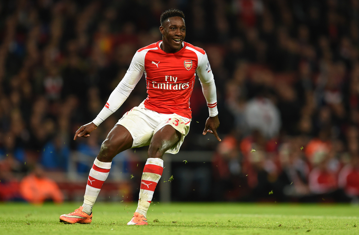 Danny Welbeck of Arsenal during the Barclays Premier League match against Manchester United at the Emirates Stadium, London Picture by Andrew Timms/Focus Images Ltd +44 7917 236526 22/11/2014