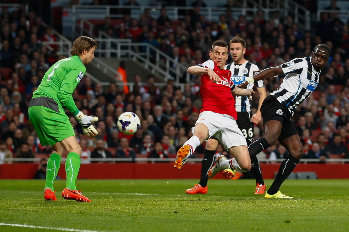 Koscielny Krul Arsenal Newcastle Focus