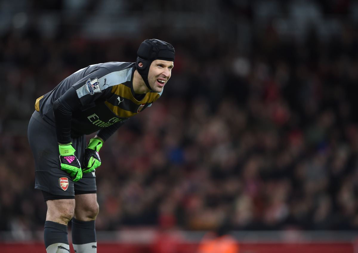 Arsenal goalkeeper Petr Cech during the Barclays Premier League match at the Emirates Stadium, London Picture by Daniel Hambury/Focus Images Ltd +44 7813 022858 02/02/2016