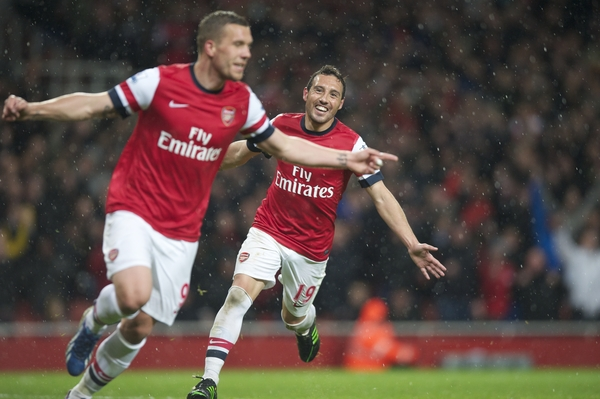 Podolski - Cazorla - Arsenal - Focus