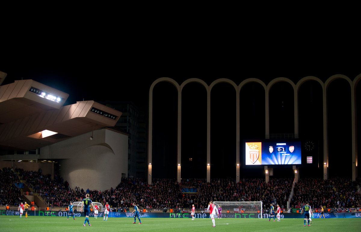 AS Monaco FC v Arsenal UEFA Champions League