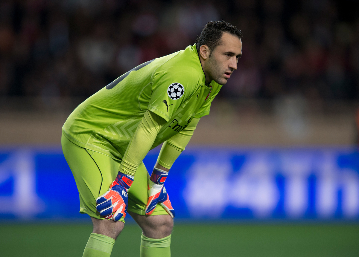 Arsenal goalkeeper David Ospina during the UEFA Champions League round of 16 second leg at Stade Louis II, Monaco Picture by Russell Hart/Focus Images Ltd 07791 688 420 17/03/2015