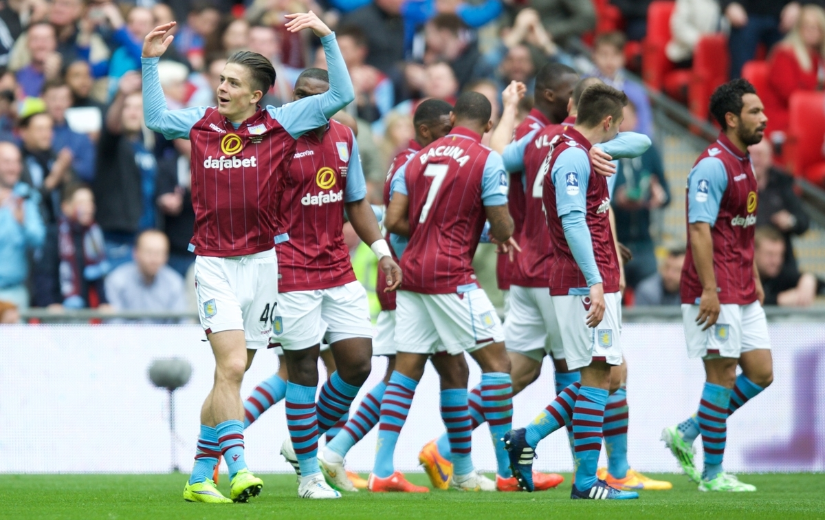 Grealish Aston Villa Focus