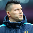 Sergio Aguero of Manchester City during the FA Cup match at Villa Park, Birmingham Picture by Andy Kearns/Focus Images Ltd 0781 864 4264 30/01/2016