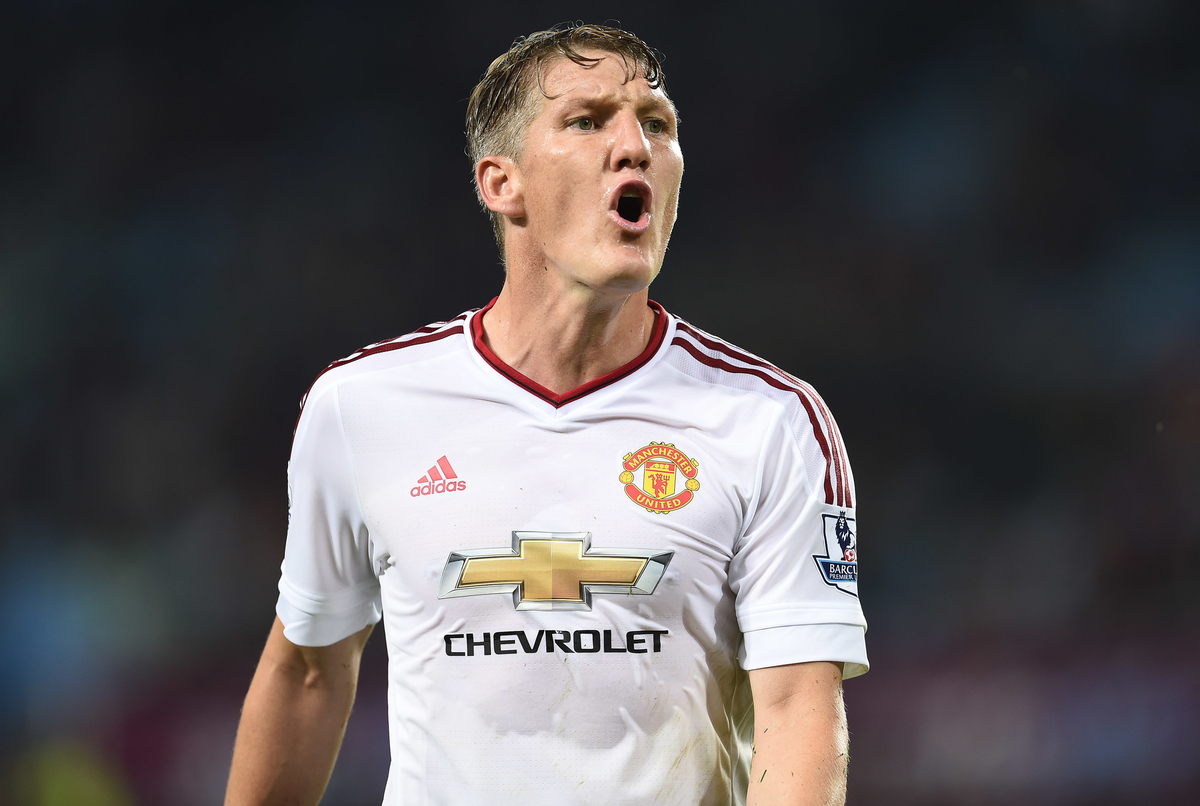 Bastien Schweinsteiger of Manchester United during the Barclays Premier League match against Aston Villa at Villa Park, Birmingham Picture by Andrew Timms/Focus Images Ltd +44 7917 236526 14/08/2015