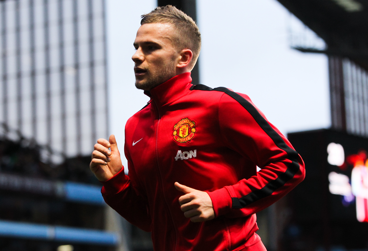 Manchester United Cleverley Focus