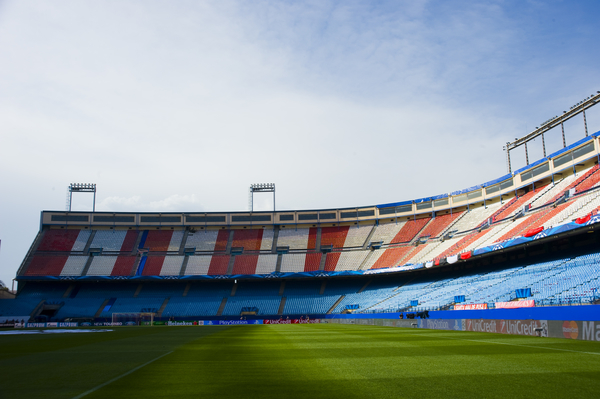 Atletico de Madrid-Vicente Calderón-Focus
