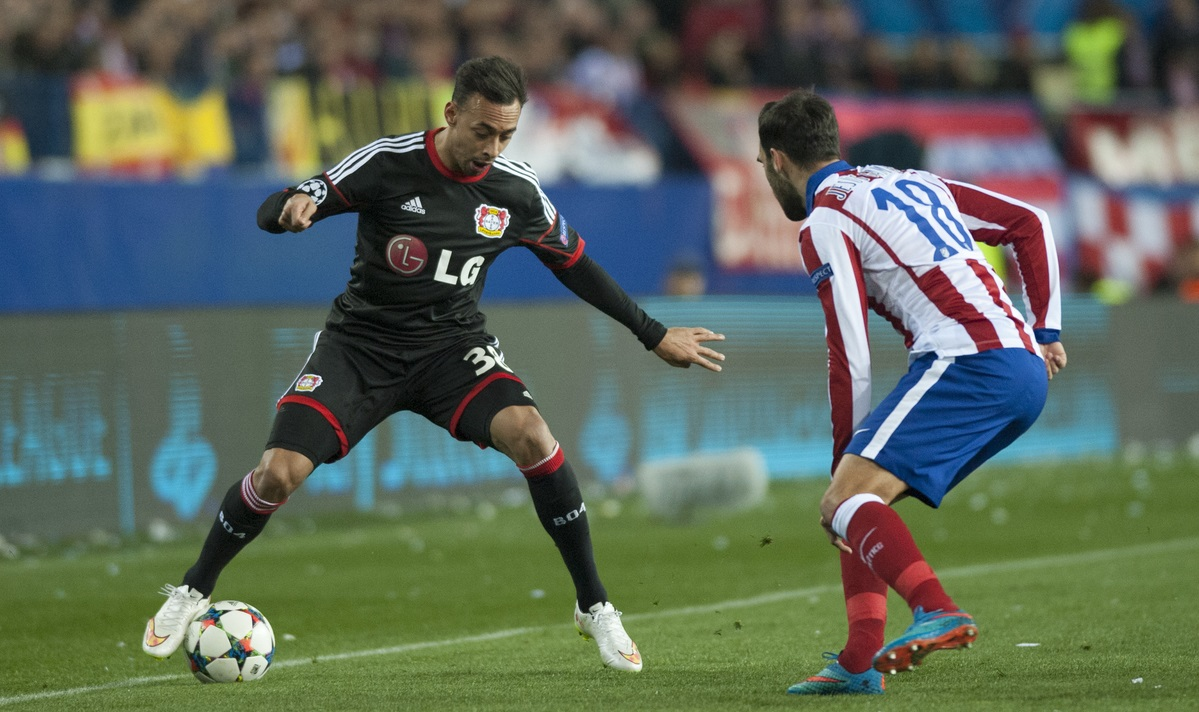 Aquella eliminatoria contra el Atlético de Madrid (Foto: Focus Images Ltd)