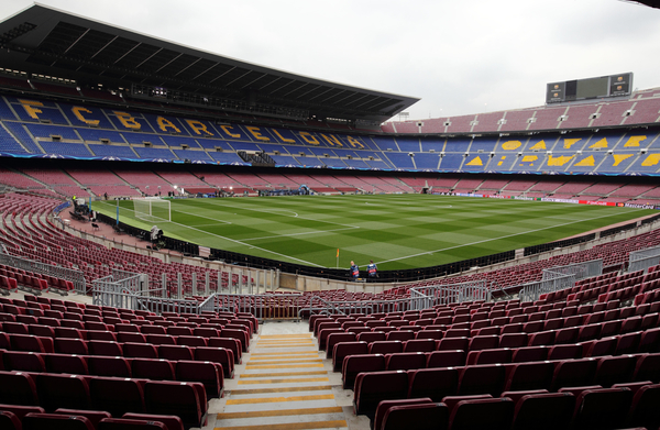 A General View of Camp Nou during the UEFA Champions League match at Camp Nou, Barcelona Picture by Yannis Halas/Focus Images Ltd +353 (87) 258201 16/03/2016