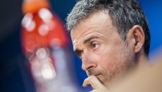 Barcelona manager Luis Enrique during a press conference at Ciutat Esportiva Joan Gamper, Sant Joan Despí Picture by Luis Tato/Focus Images Ltd (+34) 661 459 33 04/04/2016