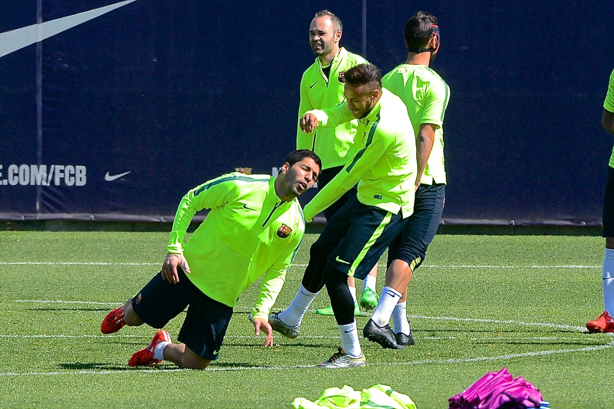 Barcelona Training