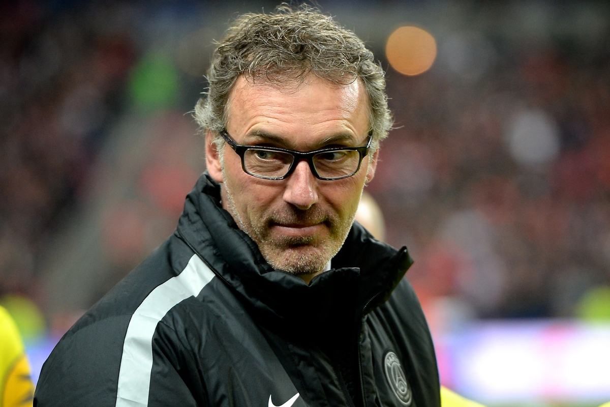 Paris St-Germain manager Laurent Blanc pictured ahead of the Coupe de la Ligue Final at Stade de France, Paris Picture by Ian Wadkins/Focus Images Ltd +44 7877 568959 11/04/2015