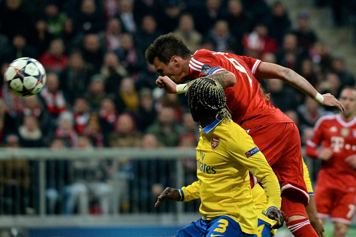 Bayern Munich v Arsenal UEFA Champions League