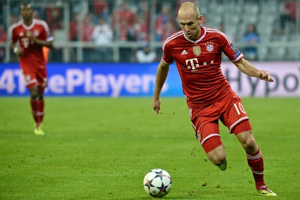 Bayern Munich v ArsenalUEFA Champions League Robben