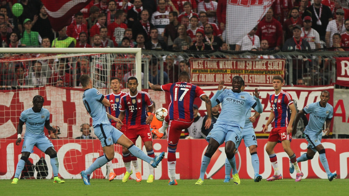 Manchester City Bayern Focus