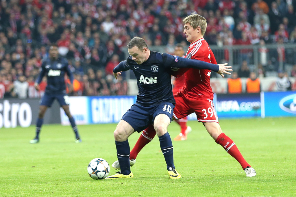 Bayern Munich v Manchester United UEFA Champions League