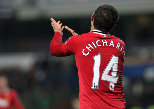 Chicharito-Manchester United-Focus