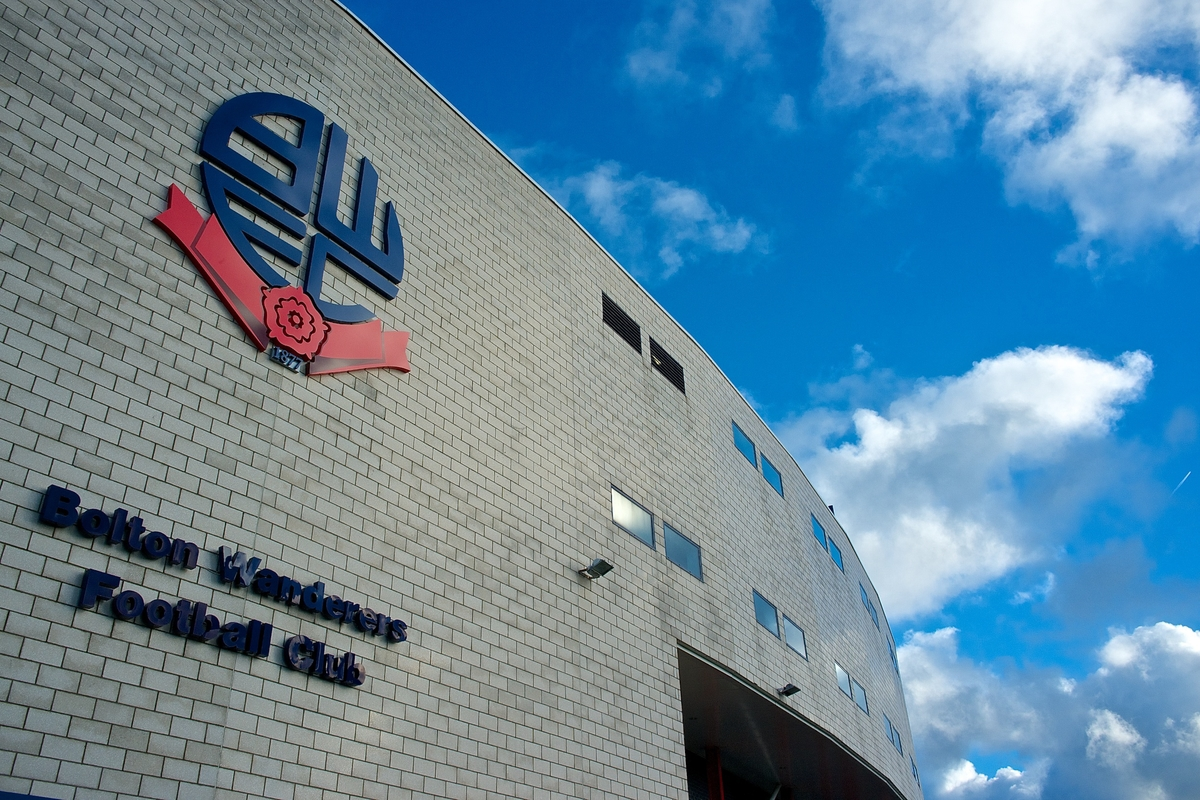 Picture by Ian Wadkins/Focus Images Ltd +44 7877 568959 11/01/2014 General view of the exterior of the stadium ahead of the Sky Bet Championship match at the Reebok Stadium, Bolton.
