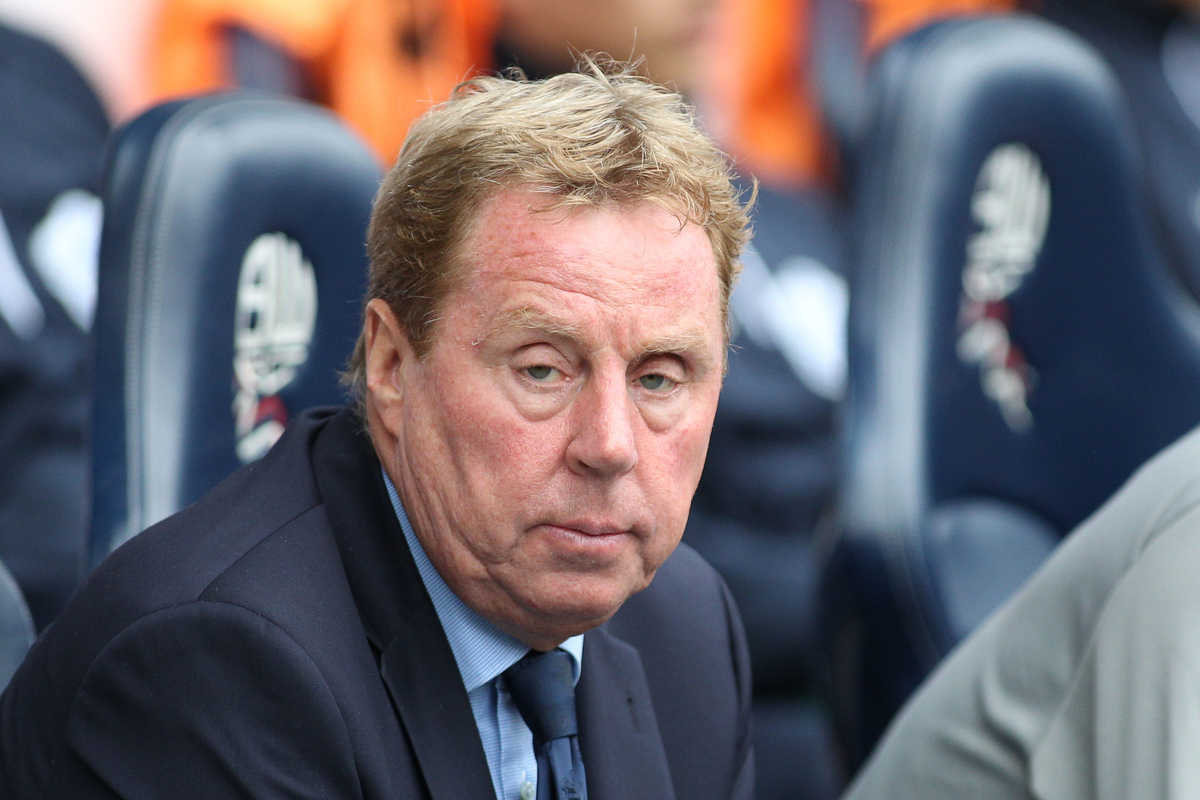 Harry Redknapp Focus