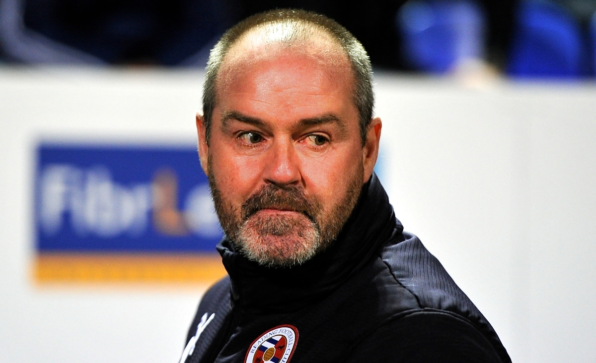Steve Clarke Reading Focus
