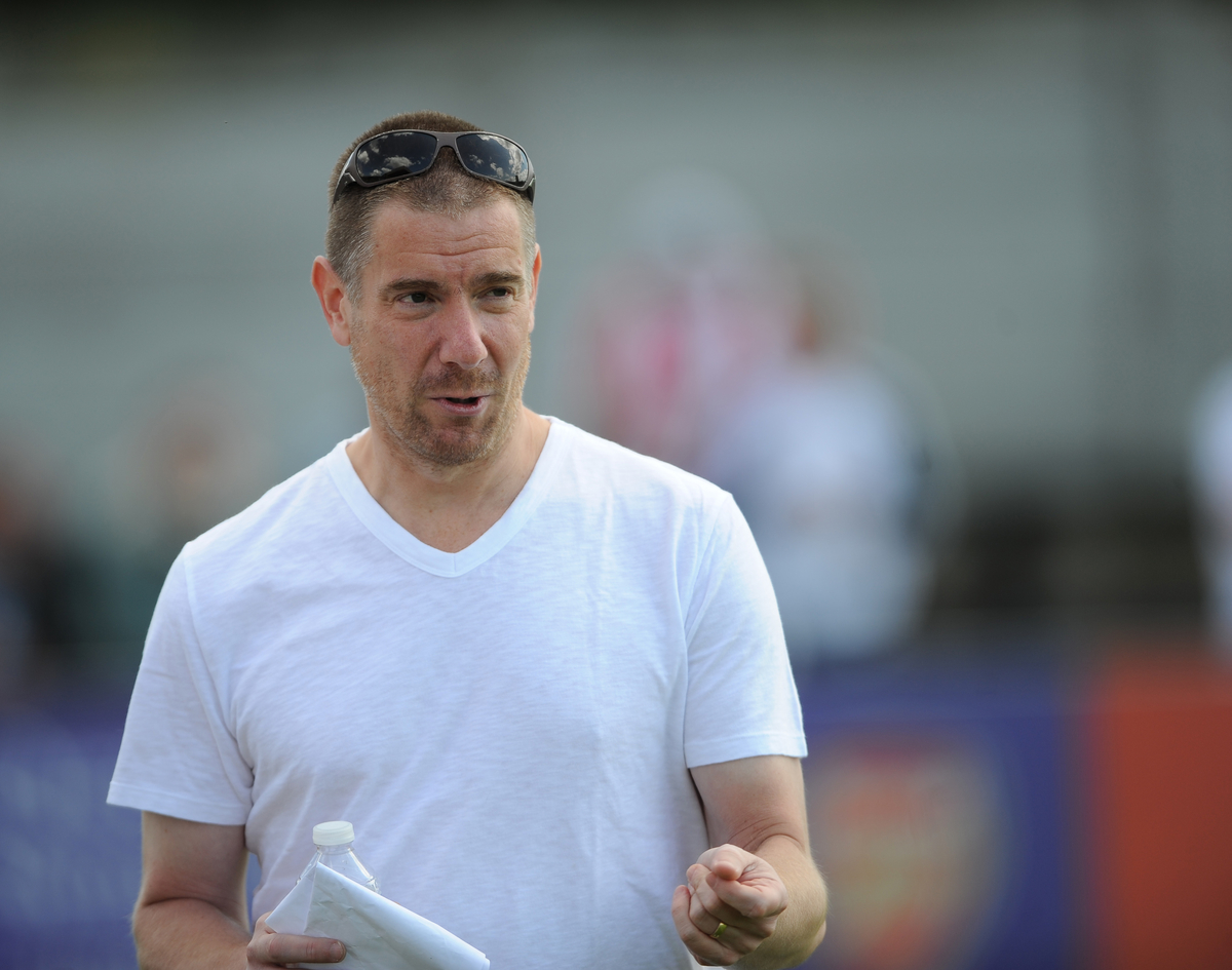 Brentford's owner Matthew Benham during the pre season friendly match at Meadow Park, Borehamwood Picture by Daniel Hambury/Focus Images Ltd +44 7813 022858 19/07/2015