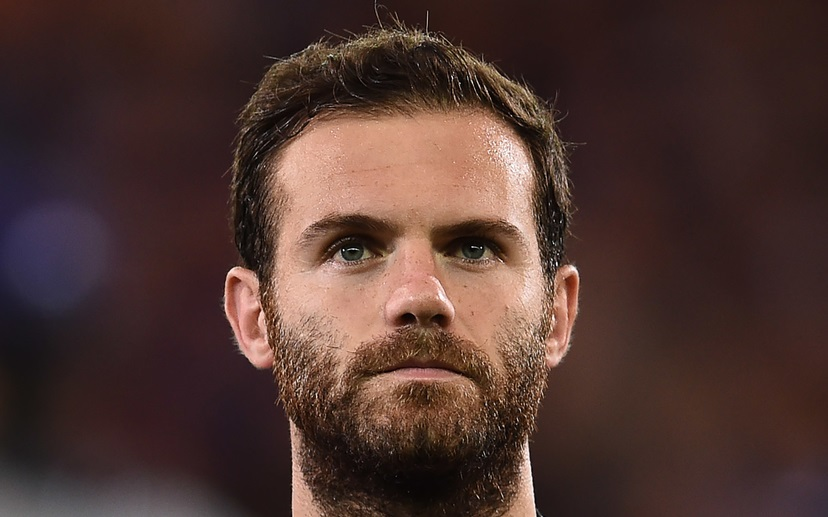 Juan Mata of Manchester United during the UEFA Champions League match against Club Brugge at Jan Breydel Stadium, Sint-Andries Picture by Andrew Timms/Focus Images Ltd +44 7917 236526 26/08/2015
