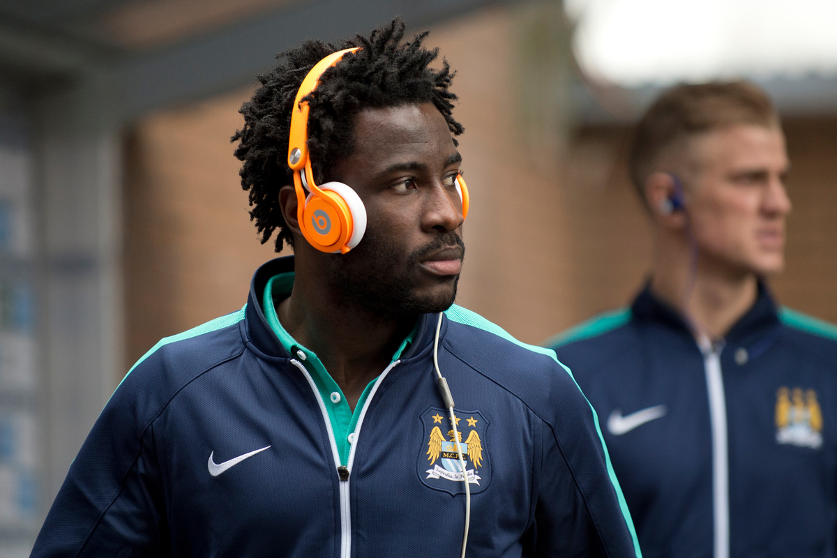 Bony Manchester City Focus