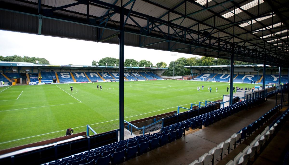A general view of the ground before the Capital One Cup match at Gigg Lane, Bury Picture by Russell Hart/Focus Images Ltd 07791 688 420 25/08/2015