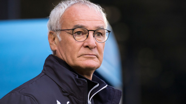 Leicester City manager Claudio Ranieri before the Capital One Cup match at Gigg Lane, Bury Picture by Russell Hart/Focus Images Ltd 07791 688 420 25/08/2015