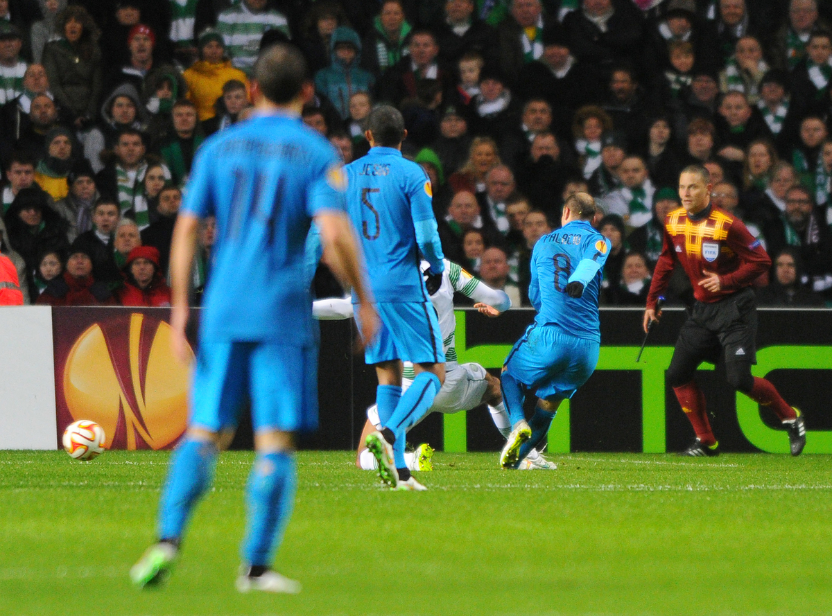 Palacio gol Inter Celtic Focus